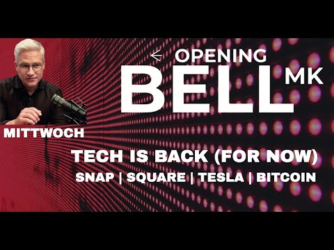 Tech kann Erholung nicht halten – und Snap, Square, Tesla, Bitcoin.