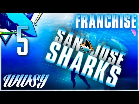 Round 1 vs Arizona Coyotes - NHL 18 San Jose Sharks GM Franchise - Ep. 5