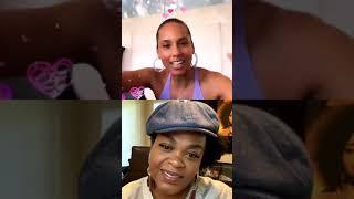 Alicia Keys Live Stream With Jill Scott & Miguel  #ALICIA