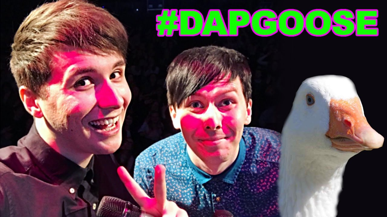 Dapgoose The Dan And Phil Go Outside On Stage Event Youtube
