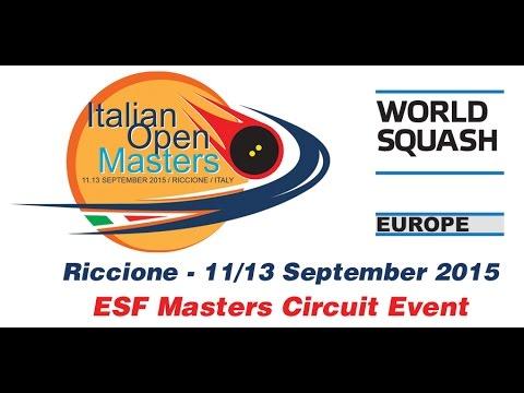 2015 - Italian Open Masters - Day 1
