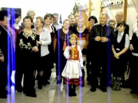 Agatka Naczk śpiewa kaszubską kolędę