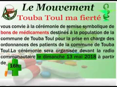 Emission de M.Ameth DIEYE à la radio Thiossane FM de Touba Toul