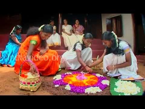 Onam, the national festival of Kerala