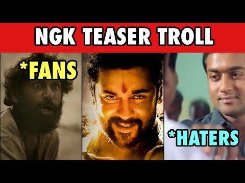 NGK Teaser Troll | Suriya | Sai Pallavi  | Yuvan Shankar Raja | Selvaraghavan