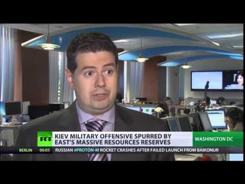 Shale Gas & politics Are Western Energy Giants' Interests behind Ukraine Violence?