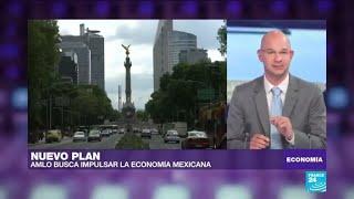 México: López Obrador busca impulsar la economía con el plan de infraestructura