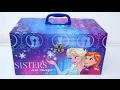 Disney Frozen Elsa Sisters Secret Magic Box DIY Frozen Elsa Super Glitter Slime