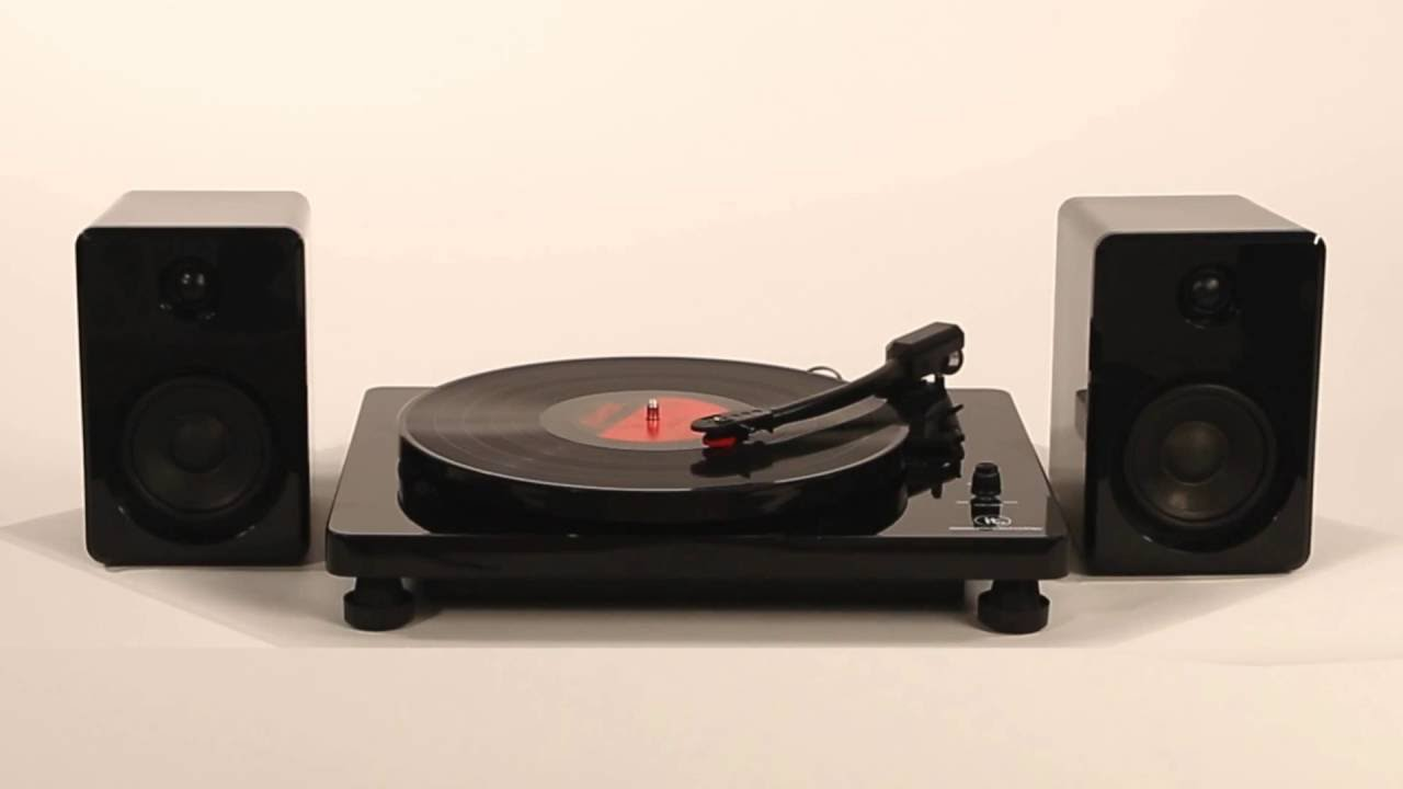 Superb Modern Bluetooth Stereo Turntable (ITUT 420)   YouTube