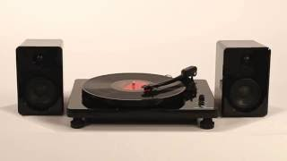 Modern Bluetooth Stereo Turntable (ITUT-420)