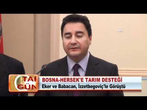 BOSNA-HERSEK'E TARIM DESTEĞİ 20.03.2012
