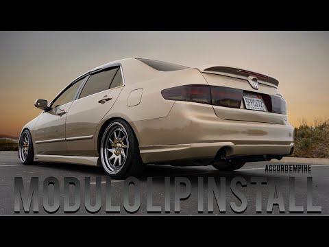 Honda Accord Modulo Rear Lip Install