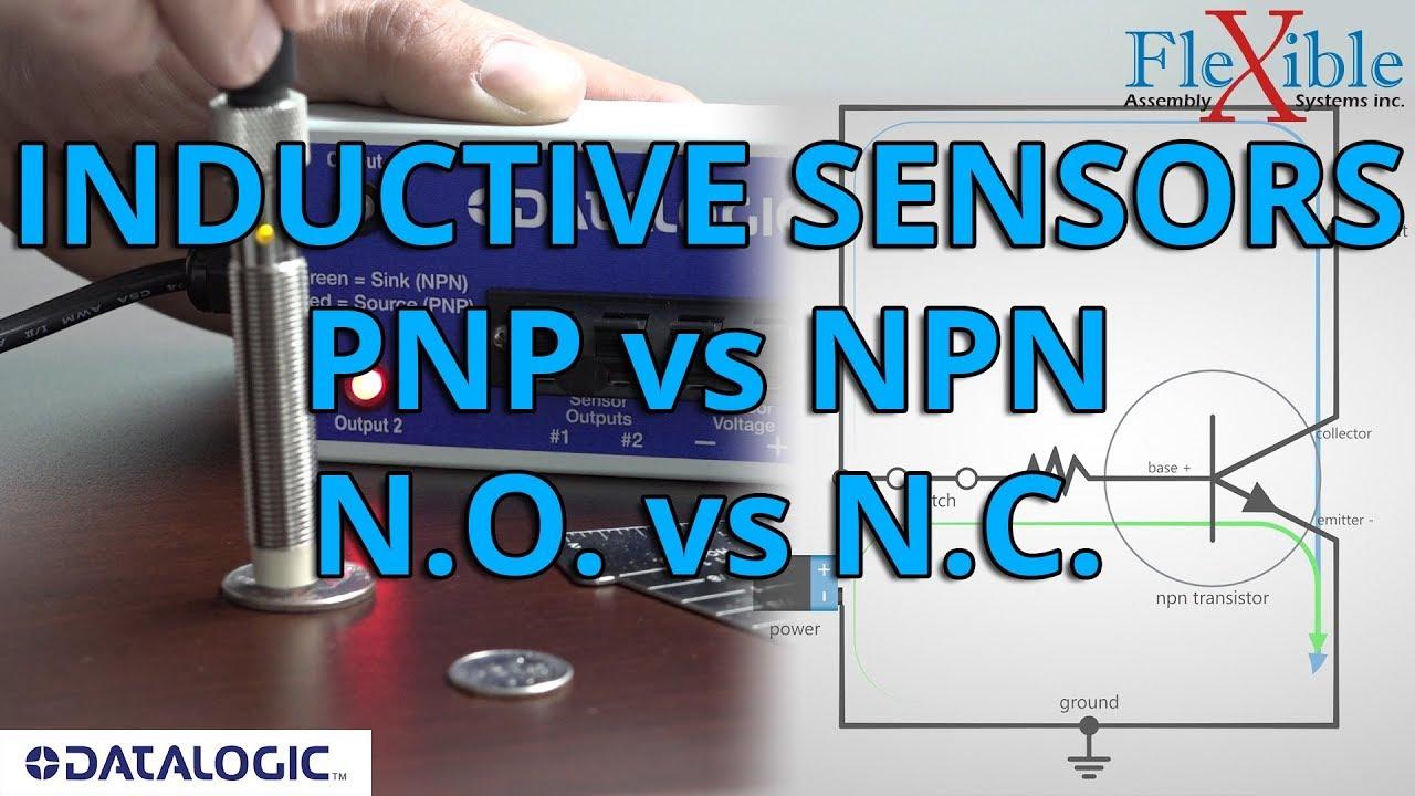 small resolution of inductive sensors pnp vs npn n o vs n c datalogic