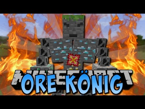 Minecraft ORE KÖNIG (FAKE ORES² MOD) [Deutsch]