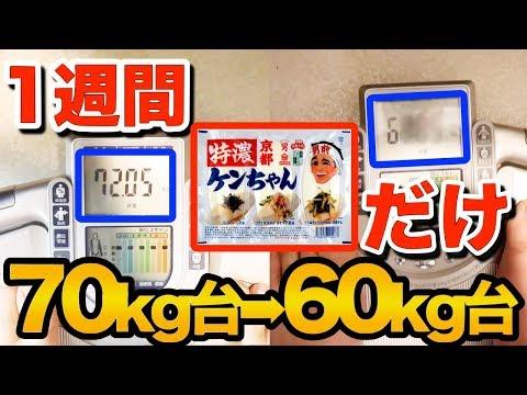 1週間豆腐だけで生活したら何キロ痩せる?【ダイエット】