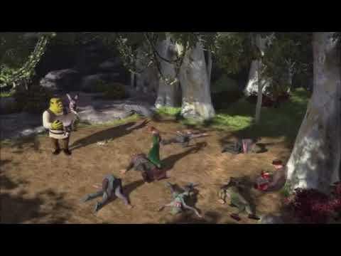 Shrek robin hood scence reverse