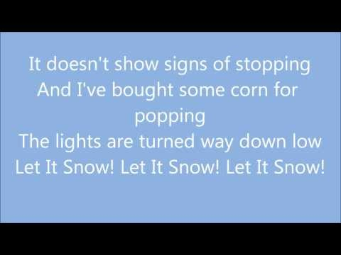 Let It Snow - Michael Bublé (Lyrics)