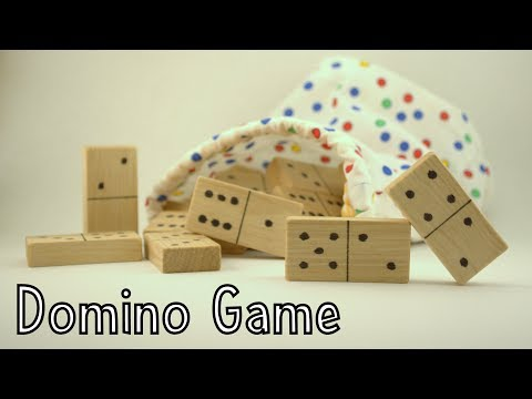 How To Make A Wooden Domino Game - Toys For Charity