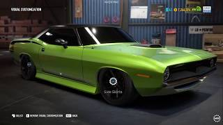 Plymouth Barracuda l Runner Build l Need for Speed Payback