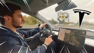 Jai testГ© une Tesla Model 3 la voiture du futur