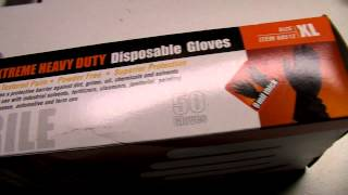 New Product Harbor Freight Extreme Duty Nitrile Gloves