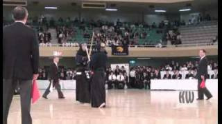 Finals Match 7/7 '08 All Japan Students Kendo Champs