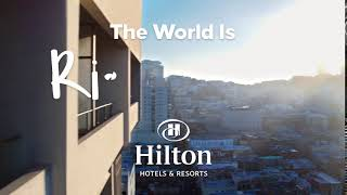 The World is Right Here: Hilton San Francisco Union Square