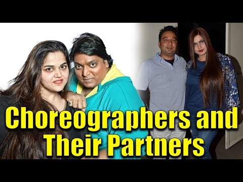 Famous Bollywood Choreographers and their Partners ✔ from YouTube · Duration:  2 minutes 12 seconds