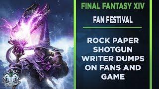 Rock Paper Shotgun Writer Dumps on Final Fantasy XIV Fans at Fan Festival