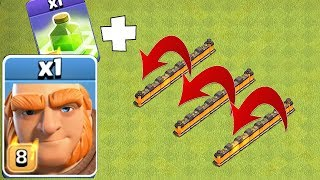"""GIANT JUMP SPELL NEW EVENT!! """"Clash Of Clans"""" TROLL ATTACKS!!"""