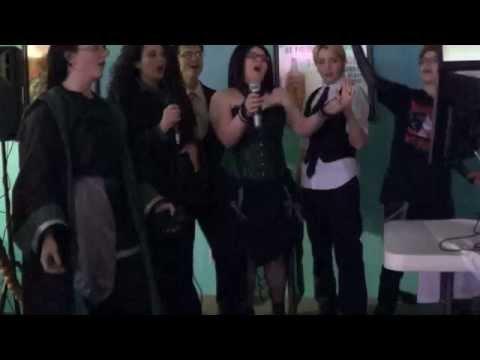 """Karaoke Night - Frozen """"Let it go"""""""