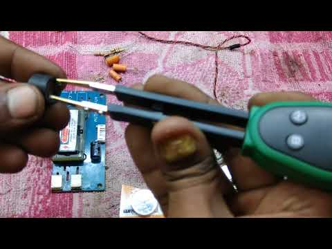 Use of smart smd tester