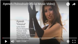 Ayeneh-Pishnahad(Official Music Video)