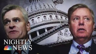 Comedian Jimmy Kimmel Calls Out Senator As Health Care Bill Heads For Vote | NBC Nightly News