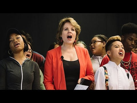 Renée Fleming w/ Students from Chicago High School for the Arts