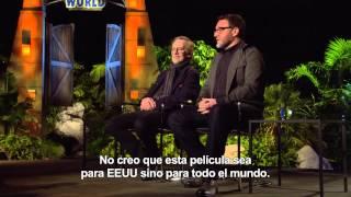 JURASSIC WORLD - Entrevista con Steven Spielberg y Colin Trevorrow
