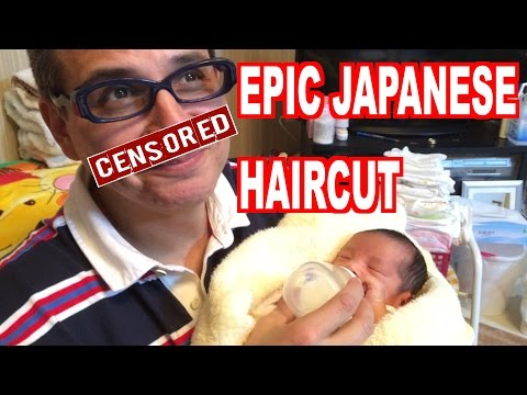 Epic Ending Only-in-Japan Haircut (Watch until the end!)