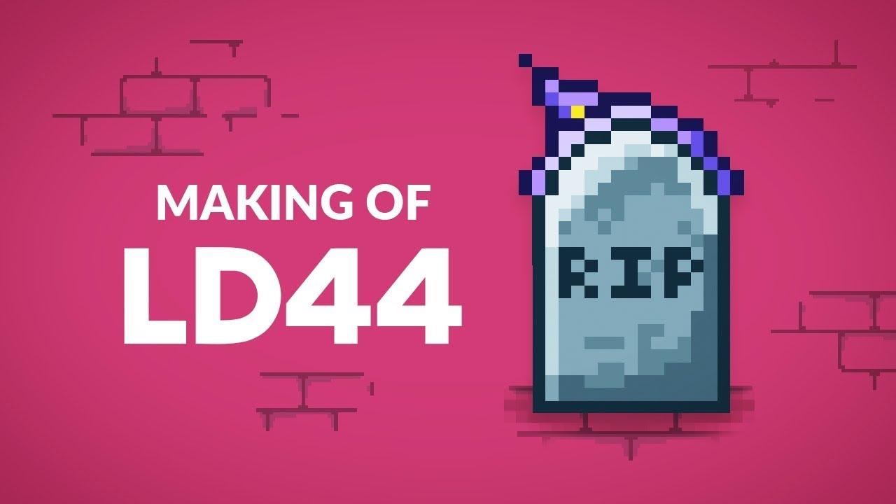 Making Of SOUL SURGE — Ludum Dare 44