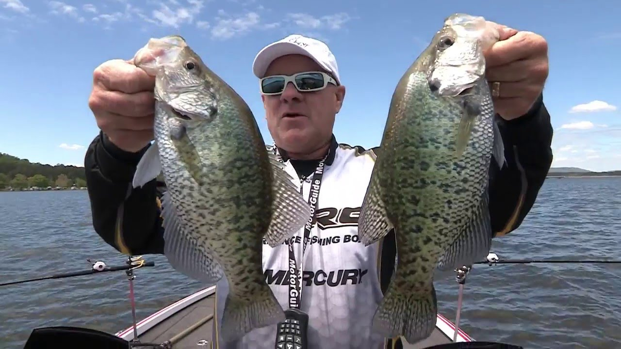 Fox sports outdoors southeast 9 2016 guntersville for Crappie fishing in alabama