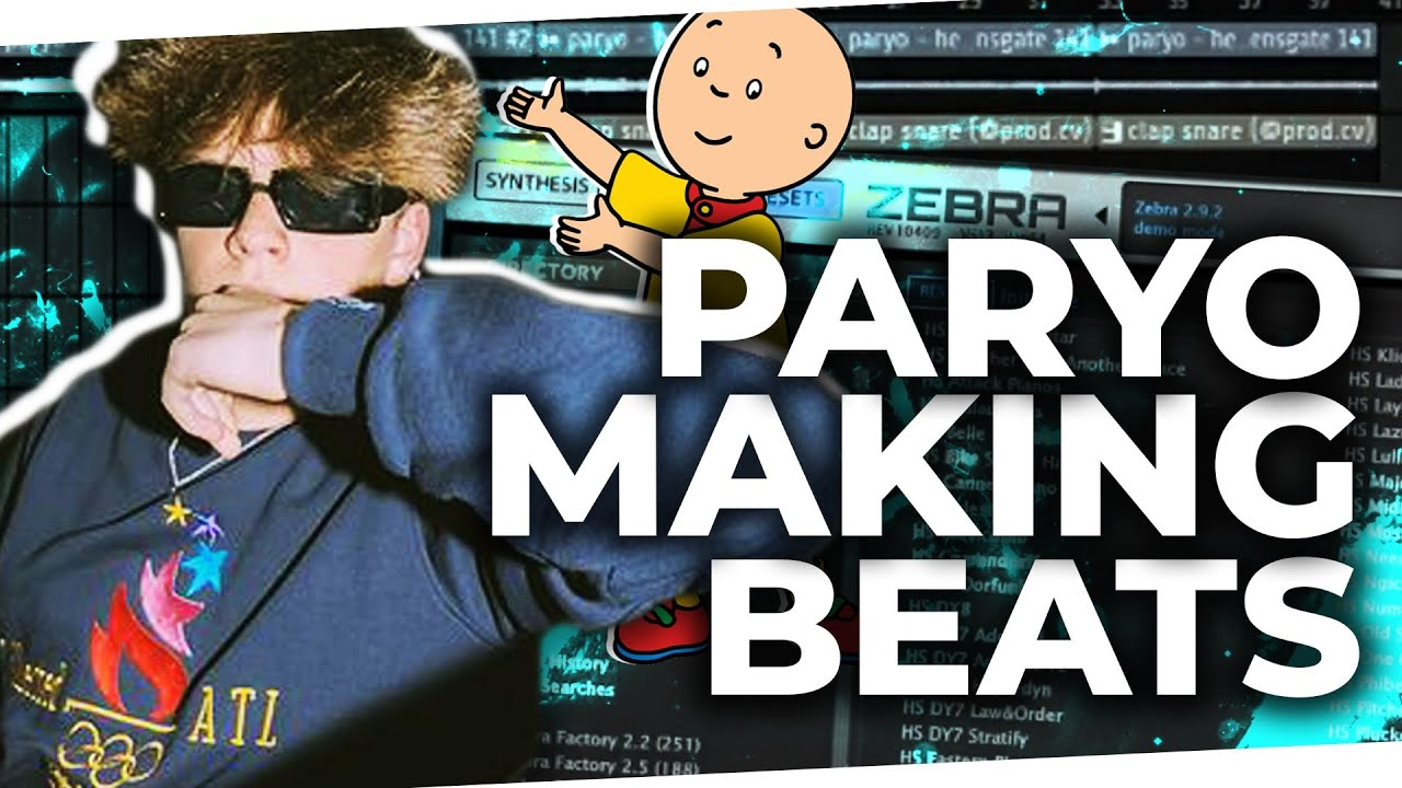 Paryo Making Beats While Chat Tries to Convince him to Shave his Head
