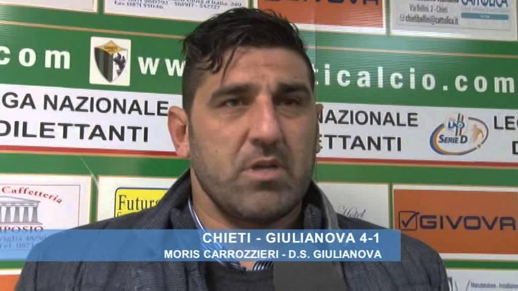 Chieti - Giulianova 4-1: Moris Carrozzieri - YouTube
