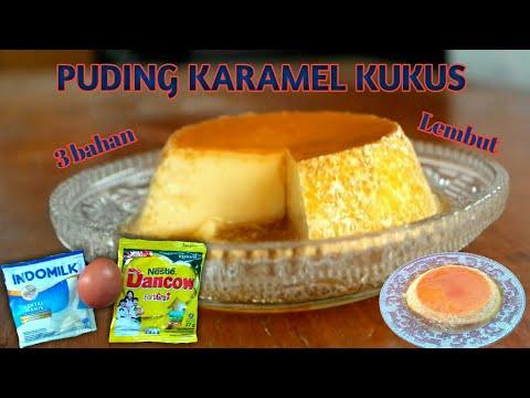 puding-karamel-kukus-3-bahan-|-custard-caramel-puding