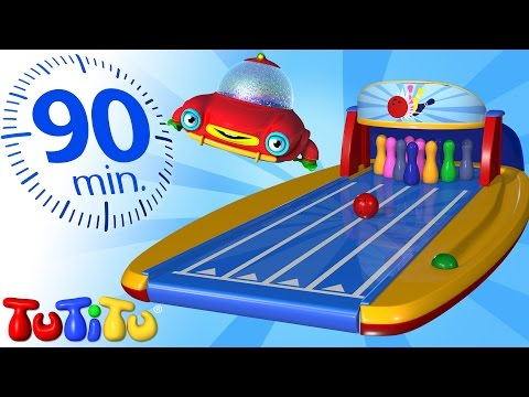 TuTiTu Specials | Bowling and Other Popular Toys for Children | 90 Minutes Special