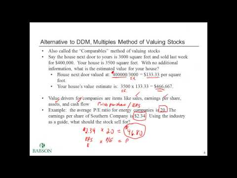Stock Valuation and Cost of Capital Basics