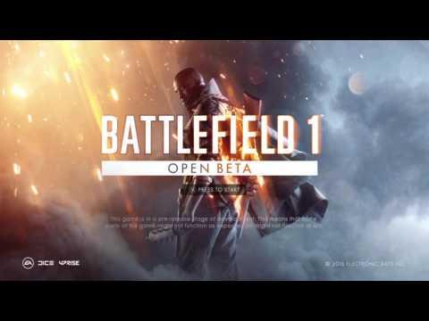 Battlefield 1 open beta main menu theme