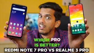 "Realme 3 Pro vs Redmi Note 7 Pro Detailed comparison ??? Which one is real ""PRO""?"
