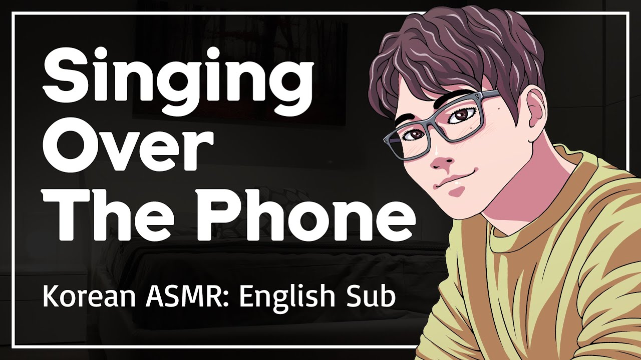 Boyfriend Calls You Just To Hear Your Voice & Rain Sound - Korean Boyfriend Comfort ASMR [ENG SUB]