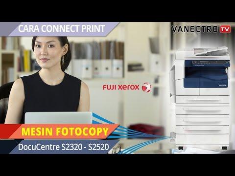 GAMPANG YA!! Install Driver Print Mesin Fotocopy #FujiXerox DC2320 2520