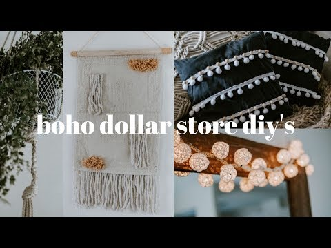 DOLLAR TREE DIY'S | ANTHROPOLOGIE/URBAN OUTFITTERS INSPIRED