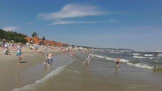sopot beach by wearable camera
